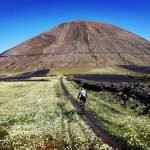 Viaggio in bicicletta: mountain bike a Lanzarote